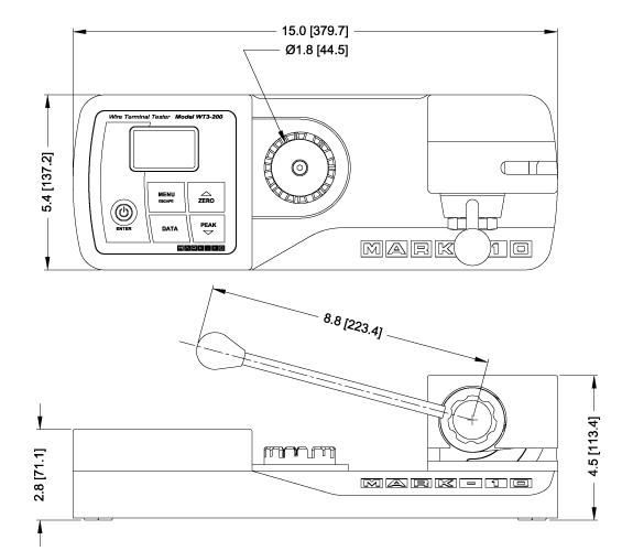 接线端子测量仪WT3-200